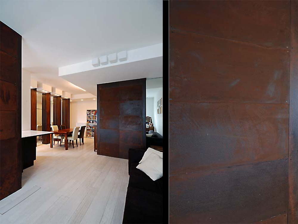 AN UNUSUAL MATERIAL: CORTEN