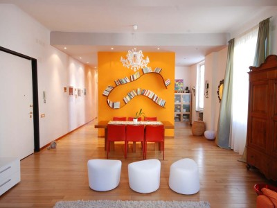 A playful home with coloured walls, Roberto Silvestri Architetto