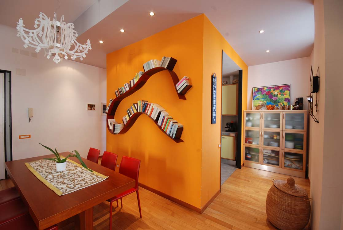 "A ""PLAYFUL"" HOME WITH COLOURED WALLS"