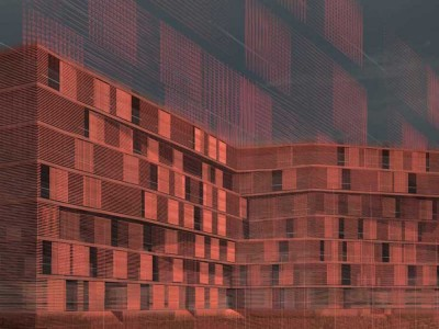 Roberto Silvestri Architects. Residential Building in Rome.